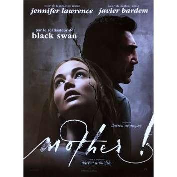 MOTHER Affiche de film - 40x60 cm. - 2017 - Jennifer Lawrence, Darren Aronofsky