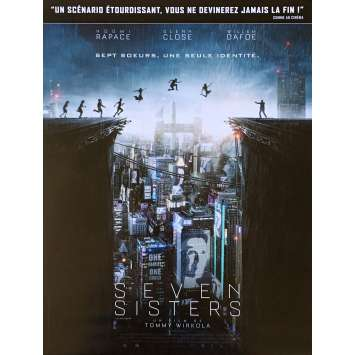 SEVEN SISTERS Affiche de film def. - 40x60 cm. - 2017 - Noomi Rapace, Tommy Wirkola