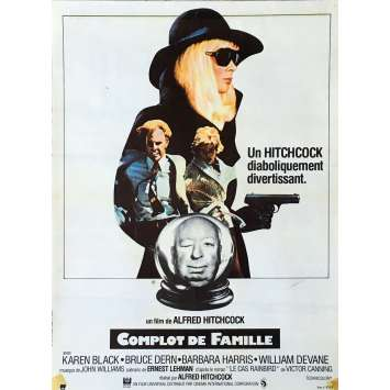 FAMILY PLOT Movie Poster - 15x21 in. - 1976 - Alfred Hitchcock, Bruce Dern