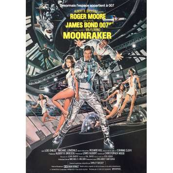 MOONRAKER Synopsis - 21x30 cm. - 1979 - Roger Moore, James Bond