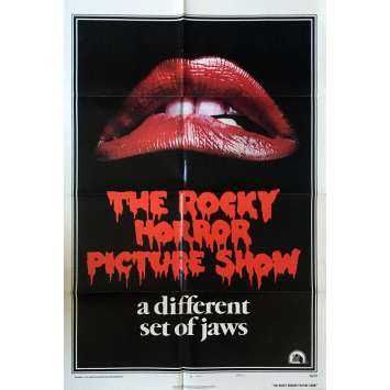 THE ROCKY HORROR PICTURE SHOW Movie Poster - 29x41 in. - 1975 - Jim Sharman, Tim Curry