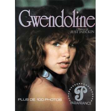 THE PERILS OF GWENDOLYNE Program - 9x12 in. - 1984 - Just Jaeckin, Tawny Kitaen