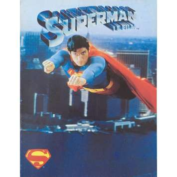 SUPERMAN Programme - 21x30 cm. - 1978 - Christopher Reeves, Richard Donner