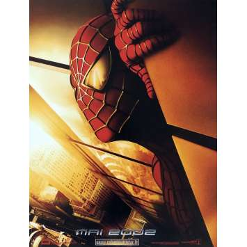 SPIDERMAN 2 Movie Poster - 15x21 in. - 2004 - Sam Raimi, Tobey Maguire