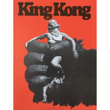 KING KONG Herald - 9x12 in. - 1976 - John Guillermin, Fay Wray
