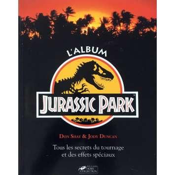 JURASSIC PARK Book - 7x9 in. - 1993 - Steven Spielberg, Sam Neil
