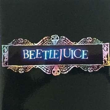 BEETLEJUICE Pressbook - 6x6 in. - 1988 - Tim Burton, Michael Keaton