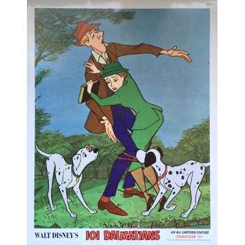 LES 101 DALMATIENS Photo de film N01 - 28x36 cm. - 1961 - Rod Taylor, Walt Disney