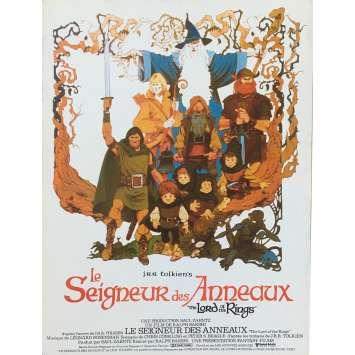 LE SEIGNEUR DES ANNEAUX Synopsis - 21x30 cm. - 1978 - Christopher Guard, Ralph Bakshi
