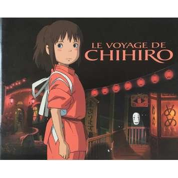 LE VOYAGE DE CHIHIRO Dossier de presse - 21x30 cm. - 2011 - Miyu Irino, Hayao Miyazaki