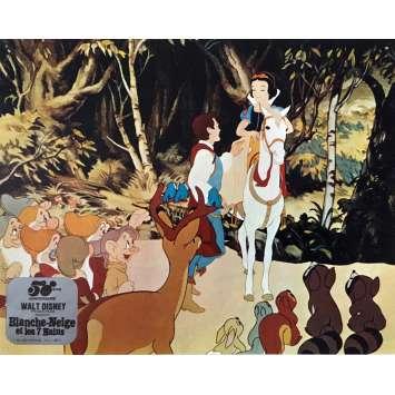 SNOW WHITE AND THE SEVEN DWARFS Lobby Card N06 - 10x12 in. - R1980 - Walt Disney, Walt Disney