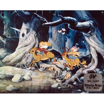 BLANCHE NEIGE ET LES 7 NAINS Photo de film N05 - 25x30 cm. - R1980 - Walt Disney, Walt Disney