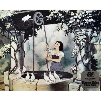 BLANCHE NEIGE ET LES 7 NAINS Photo de film N04 - 25x30 cm. - R1980 - Walt Disney, Walt Disney