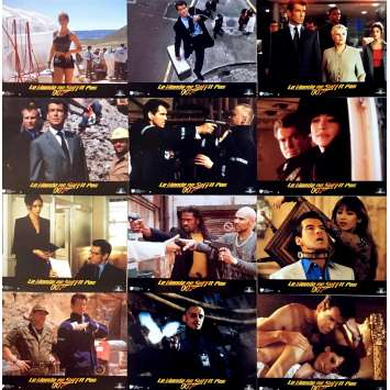 THE WORLD IS NOT ENOUGH Lobby Cards x12 - 9x12 in. - R1980 - Michael Apted, Pierce Brosnan