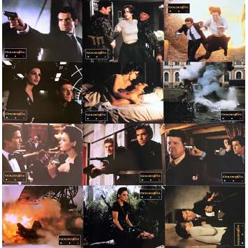 GOLDENEYE Photos de film x12 - 21x30 cm. - 1995 - Pierce Brosman, Martin Campbell