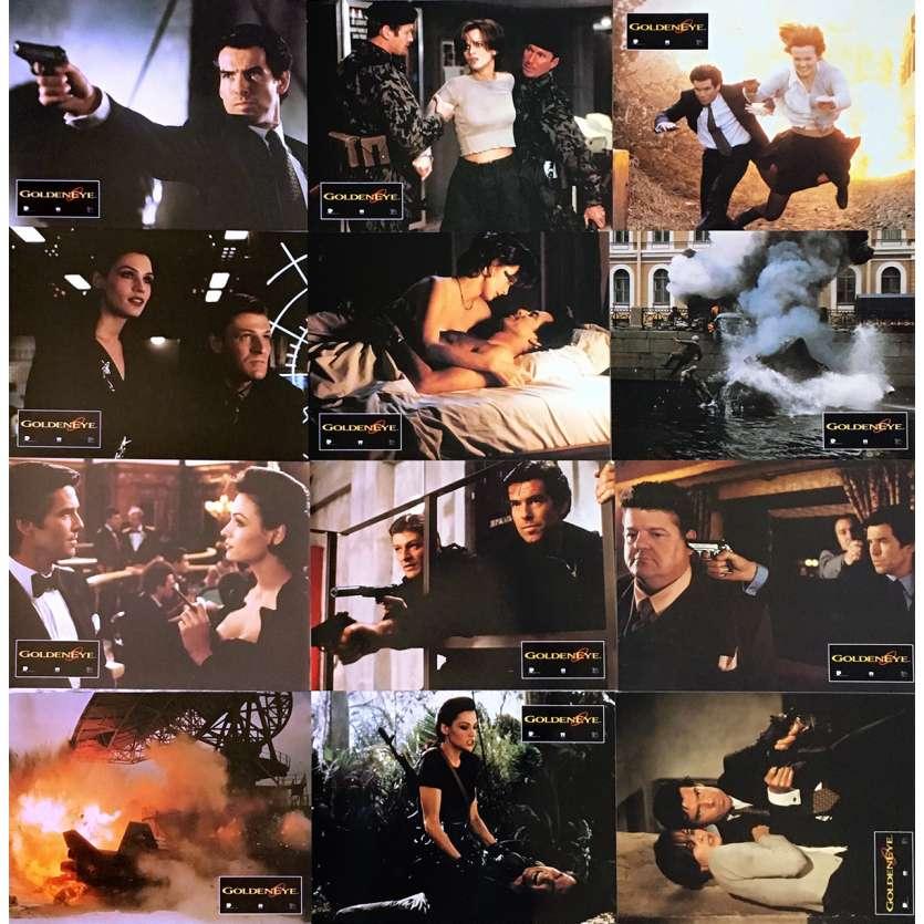 GOLDENEYE Photos de film x12 - 21x30 cm. - 1995 - Pierce Brosman, Martin Campbell