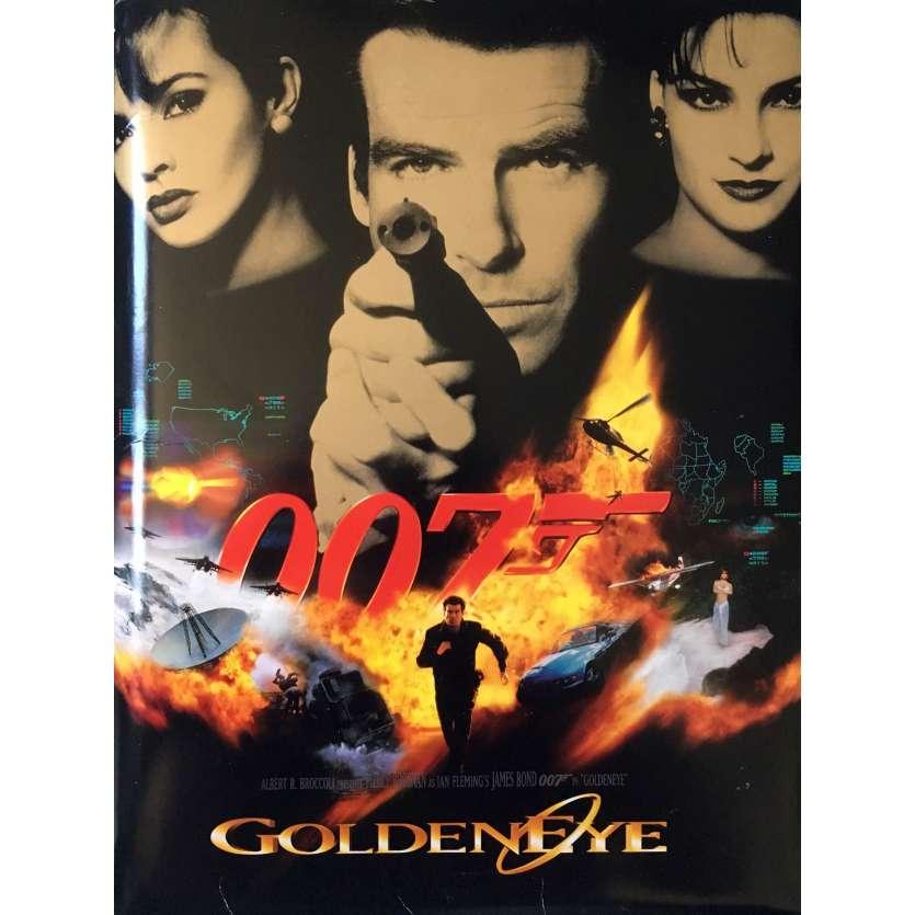 GOLDENEYE Dossier de presse - 21x30 cm. - 1995 - Pierce Brosman, Martin Campbell