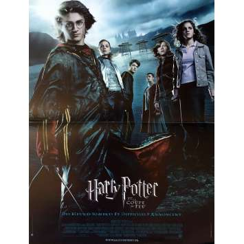 HARRY POTTER AND THE GOBLET OF FIRE Movie Poster - 15x21 in. - 2005 - Mike Newell, Daniel Radcliffe