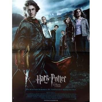 HARRY POTTER ET LA COUPE DE FEU Affiche de film - 40x60 cm. - 2005 - Daniel Radcliffe, Mike Newell
