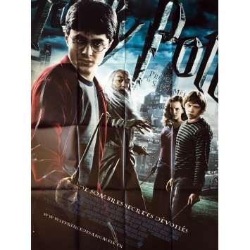 HARRY POTTER AND THE HALF-BLOOD PRINCE Movie Poster - 47x63 in. - 2009 - David Yates, Daniel Radcliffe