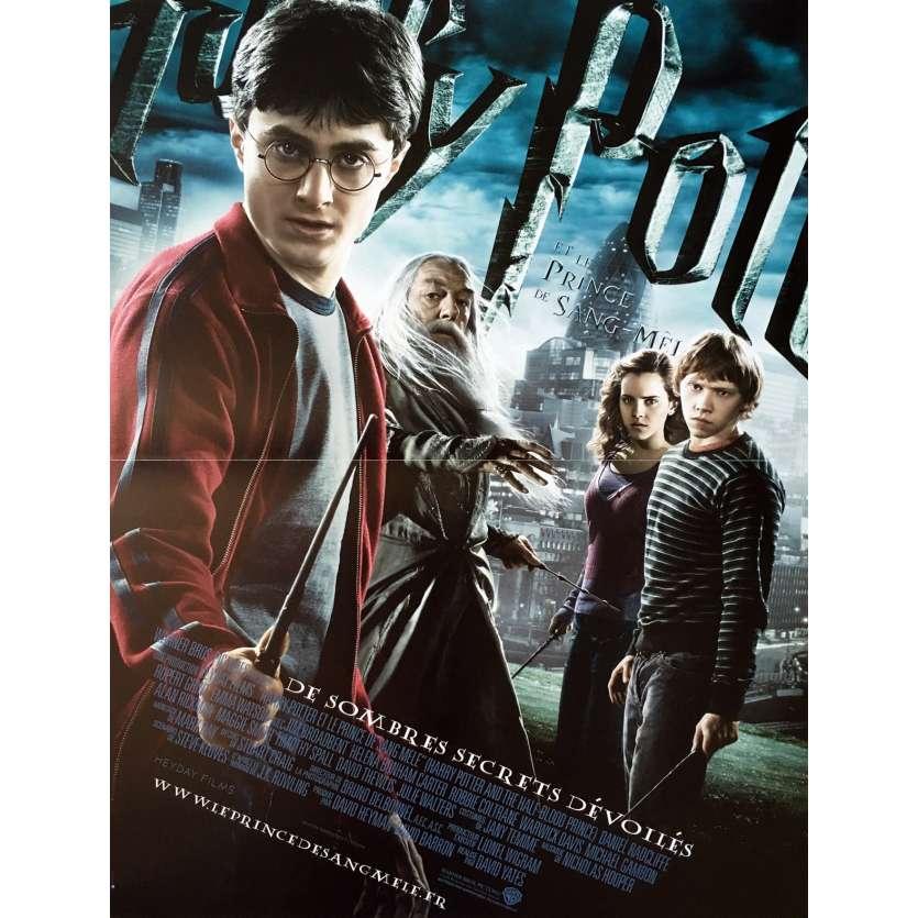 HARRY POTTER ET LE PRINCE DE SANG MELE Affiche de film - 40x60 cm. - 2009 - Daniel Radcliffe, David Yates