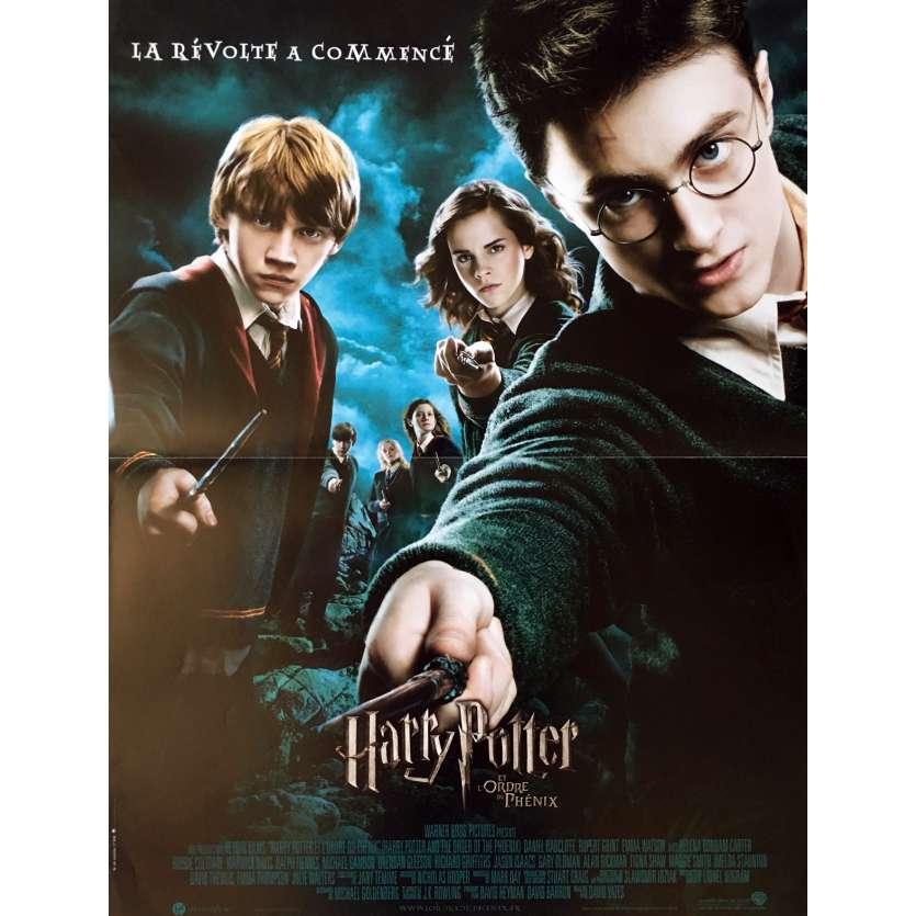HARRY POTTER ET L'ORDRE DU PHENIX Affiche de film - 40x60 cm. - 2007 - Daniel Radcliffe, David Yates