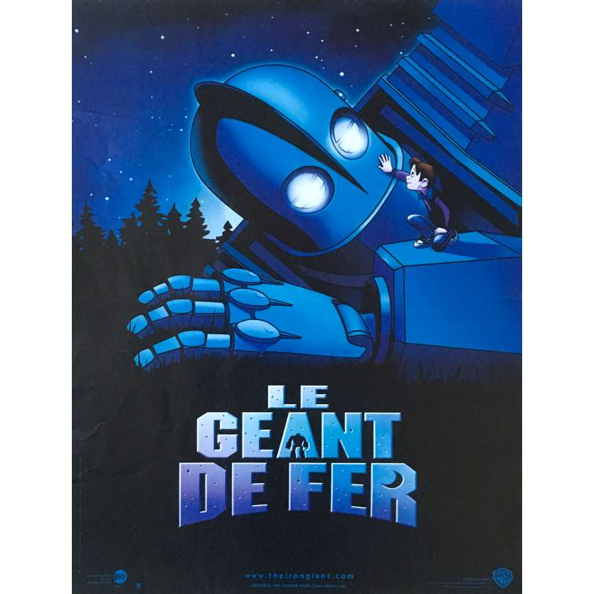 THE IRON GIANT French Movie Poster 15x21 - 1999 - Brad Bird, Jennifer Aniston