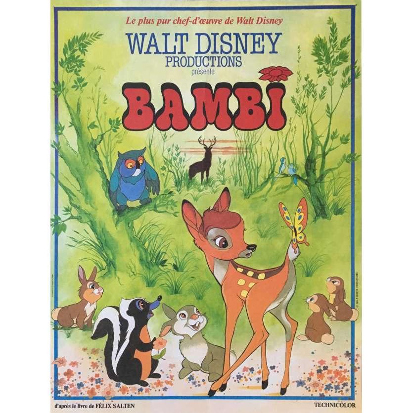 affiche de bambi