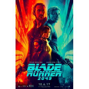 BLADE RUNNER 2049 1sh Movie Poster - DS - 2017 - Gosling, Ford, Villeneuve