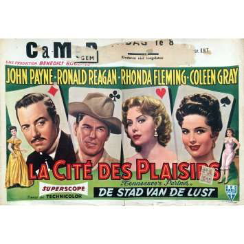 LE MARIAGE EST POUR DEMAIN Affiche de film - 35x55 cm. - 1955 - Ronald Reagan, Allan Dwan