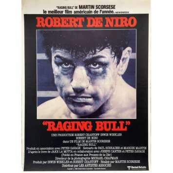 RAGING BULL Affiche de film - 40x60 cm. - 1980 - Robert de Niro, Martin Scorsese