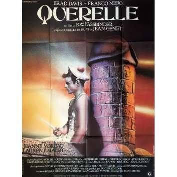 QUERELLE Movie Poster - 47x63 in. - 1982 - R. W. Fassbinder, Brad Davis