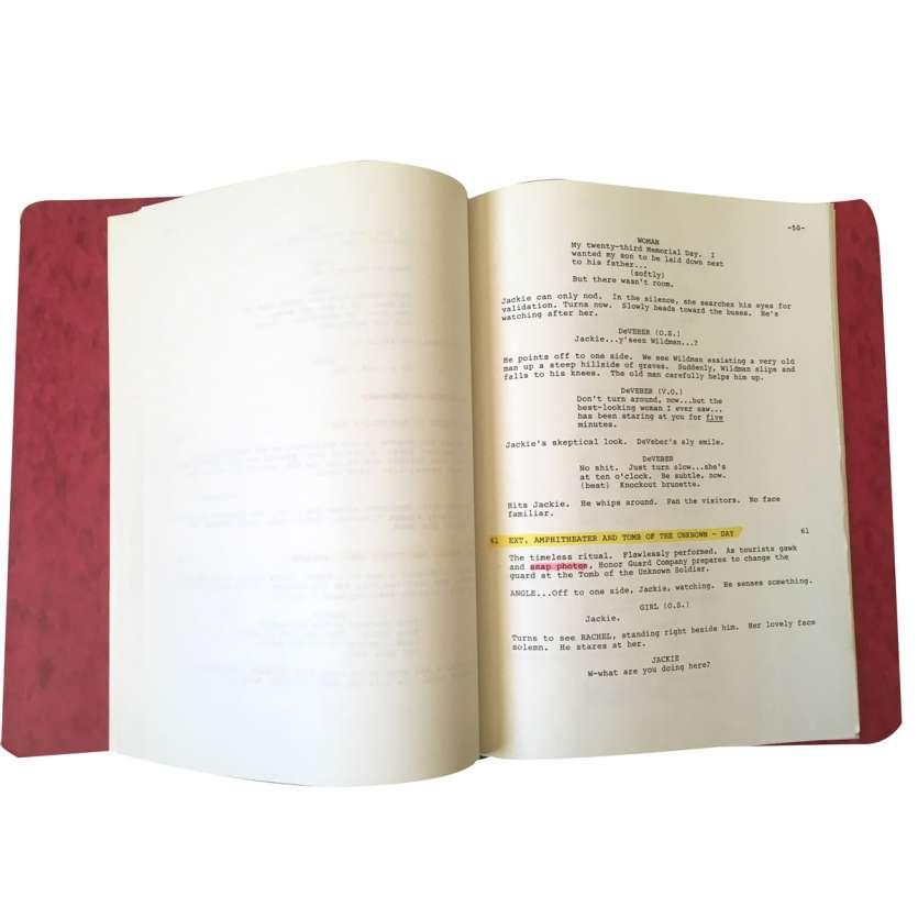 JARDINS DE PIERRE Scénario - 21x30 cm. - 1987 - James Caan, Francis Ford Coppola