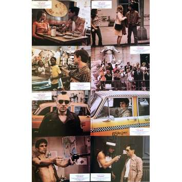 TAXI DRIVER Lobby Cards x8 - 9x12 in. - 1976 - Martin Scorsese, Robert de Niro