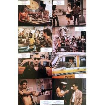 TAXI DRIVER Photos de film x8 - 21x30 cm. - 1976 - Robert de Niro, Martin Scorsese