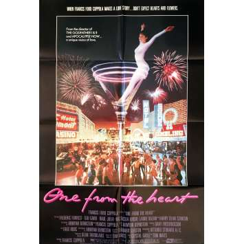 ONE FROM THE HEART Movie Poster Mod. B - 29x41 in. - 1982 - Francis Ford Coppola, Nastassja Kinski