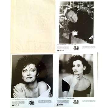 THELMA AND LOUISE Presskit - 9x12 in. - 1991 - Ridley Scott, Geena Davis