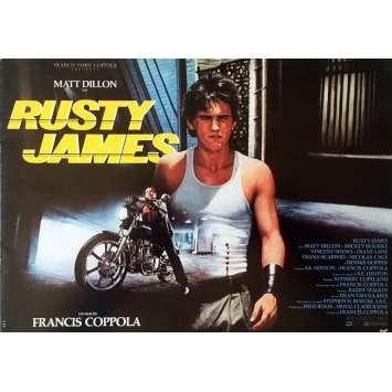RUSTY JAMES Dossier de presse - 21x30 cm. - 1983 - Matt Dillon, Francis Ford Coppola