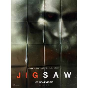 JIGSAW Movie Poster - 47x63 in. - 2017 - Michael Spierig, Laura Vandervoort