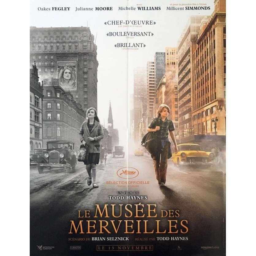 LE MUSEE DES MERVEILLES Affiche de film - 40x60 cm. - 2017 - Julianne Moore, Todd Haynes