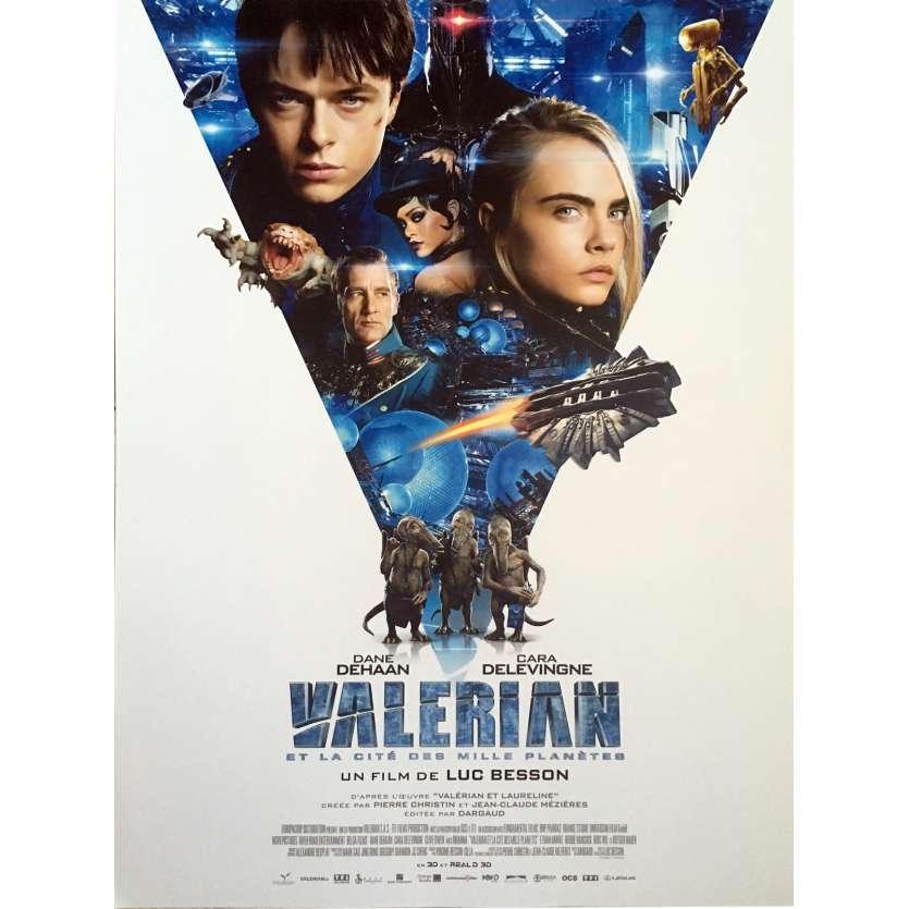 VALERIAN Affiche de film - 40x60 cm. - 2017 - Dane DeHaan, Luc Besson