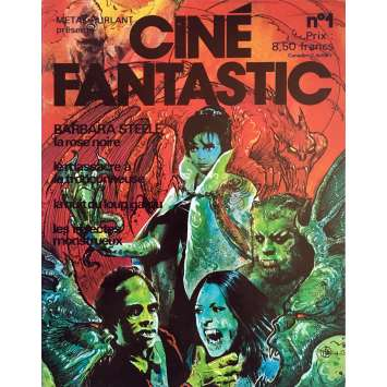 CINE FANTASTIC Magazine N01 - 9x12 in. - 1970'S - ,