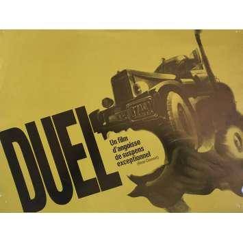DUEL Synopsis - 21x30 cm. - 1971 - Dennis Weaver, Steven Spielberg