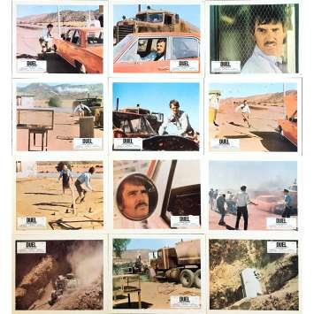 DUEL Photos de film x12 - 21x30 cm. - 1971 - Dennis Weaver, Steven Spielberg