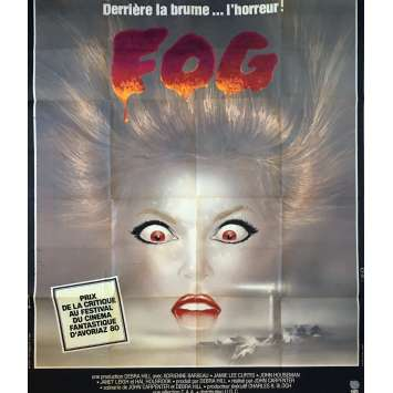 FOG Movie Poster - 47x63 in. - 1979 - John Carpenter, Jamie Lee Curtis