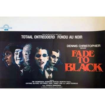 FONDU AU NOIR Affiche de film - 35x55 cm. - 1980 - Dennis Christopher, Vernon Zimmerman