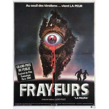FRAYEURS Affiche de film - 40x60 cm. - 1980 - Catriona MacColl, Lucio Fulci