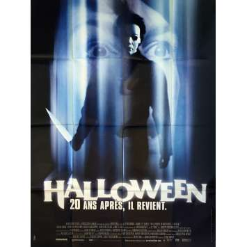 HALLOWEEN H20: 20 YEARS LATER Movie Poster - 47x63 in. - 1998 - Steve Miner, Jamie Lee Curtis