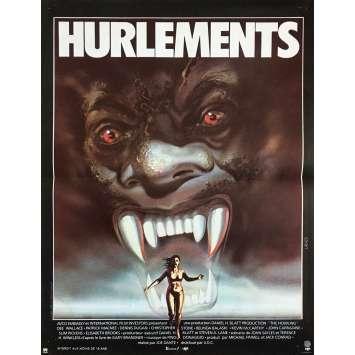 HURLEMENTS Affiche de film - 40x60 cm. - 1981 - Patrick McNee, Joe Dante