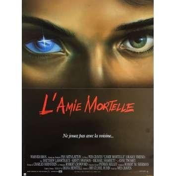 L'AMIE MORTELLE Affiche de film - 40x60 cm. - 1986 - Matthew Labyorteaux, Wes Craven
